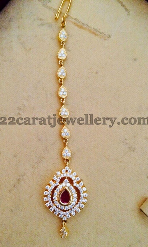 1 gram gold tikka designs jewellery designs