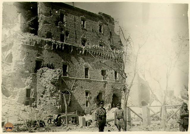toledo guerra civil asedio alcázar