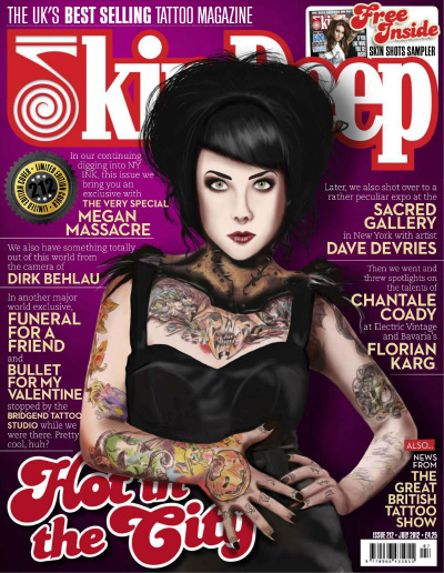 Best Magazine For Young Women: Stacie Michelle: Top Ten Tattoo Magazines