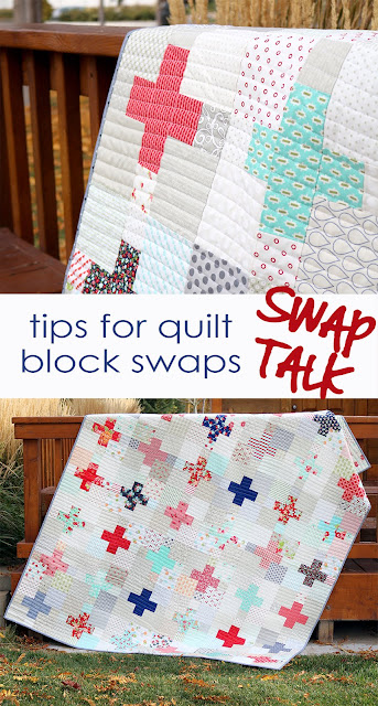 Tips for quilt block swaps and exchanges