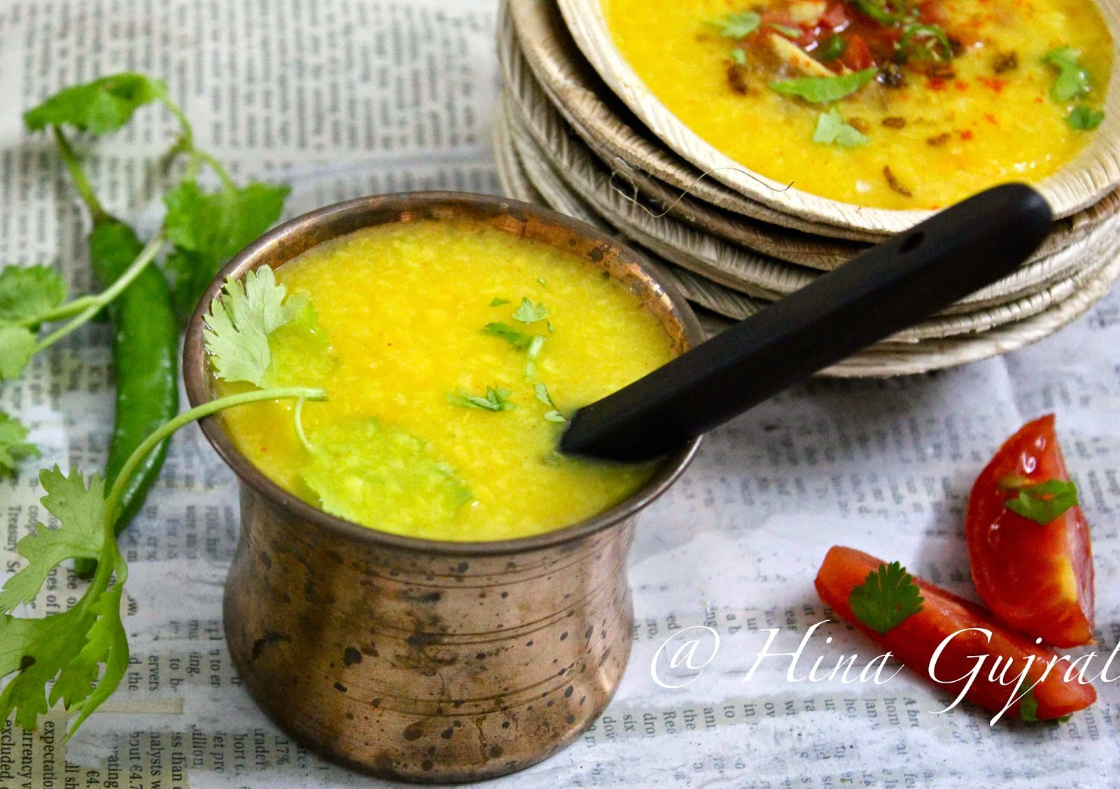 Moradabad is a pop metropolis of Uttar Pradesh  Muradabadi Moong Ki Dal Recipe (Yellow Moong Dal with Spices)