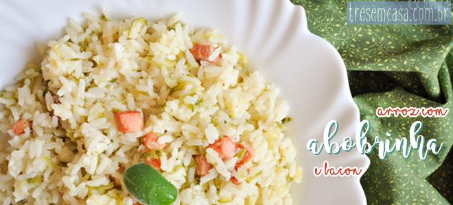 arroz abobrinha receita