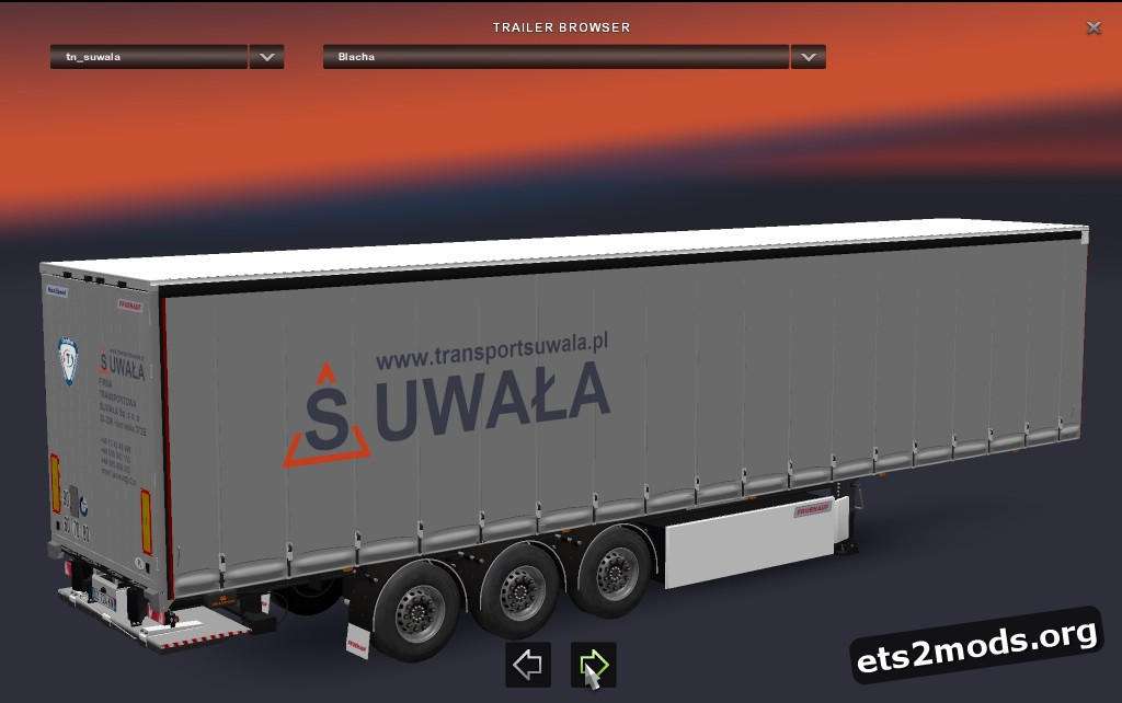 Fruehauf Maxispeed Trailers Pack with Polish Companies