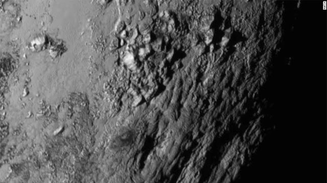 "Pluto's mountain chain as ""Norgay Montes"""