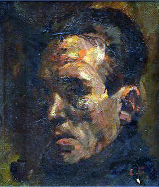 Carl Felkel, Self portrait, Portraits of Painters, Fine art