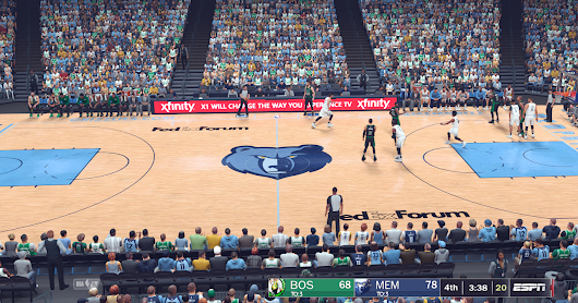 NBA 2K18 Memphis Grizzlies 2018/2019 Court by Manni Live RELEASED