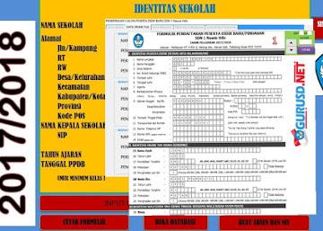 Aplikasi PPDB/PSB Terintegrasi dengan Formulir Dapodik SD/SMP/SMA