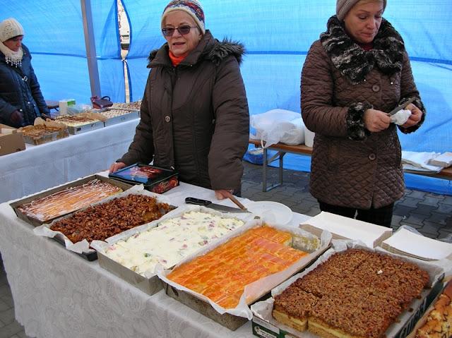 wypieki, słodkości, handel, placki
