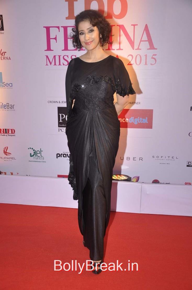 Manisha Koirala, Femina Miss India 2015 Red Carpet Photo Gallery