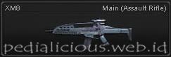 Senjata Point Blank XM8
