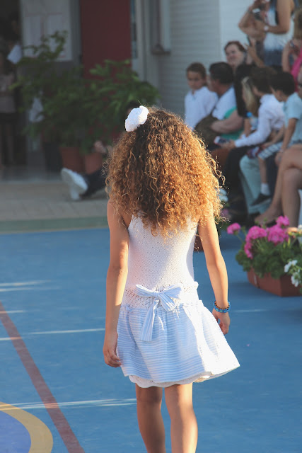 moda infantil desfile de Sylvia Marie