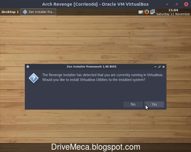 Instalamos utilitarios de virtualbox