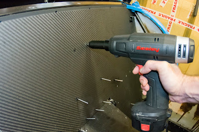 Sealey 14.4v Cordless Riveter made light work of all the riveting required