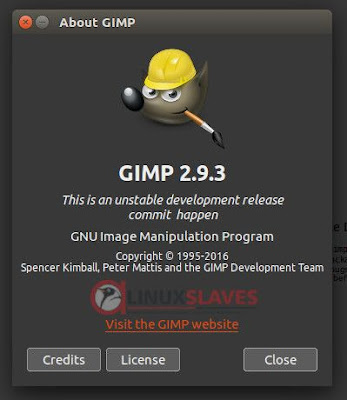 Latest GIMP version on Ubuntu Linux