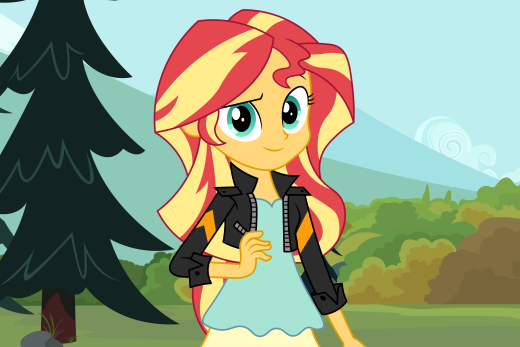 Sunset Being Adorable