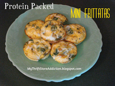 Mini Herb Frittatas
