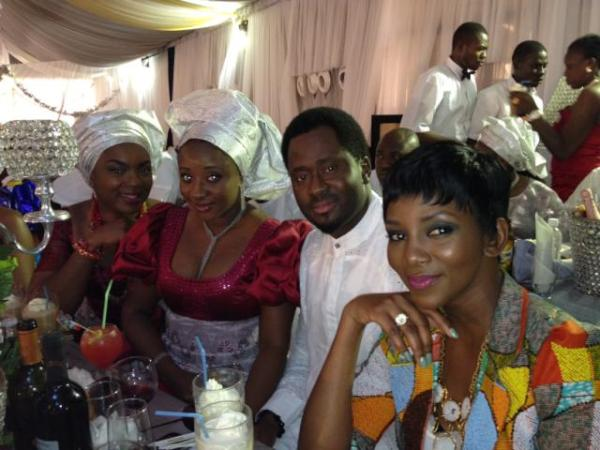 Chizy's Spyware: Funke Akindele's White & Traditional