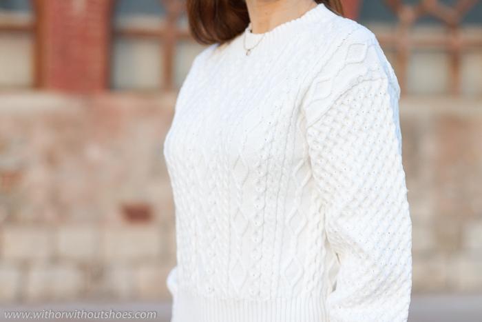 Prendas 3D sin costurasShima Seiki : Un jersey blanco precioso