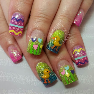 Spring duck nails