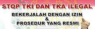 Calling Visa TKI Ke Hongkong, Proses TKI calling visa non procedural menurut hukum Indonesia