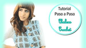 Tutorial: Chaleco Crochet a Cuadros Paso a Paso