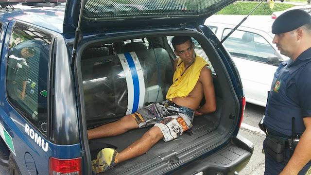 Stalone do Cata Preta é detido pela ROMO da GCM de Santo André por tráfico de drogas