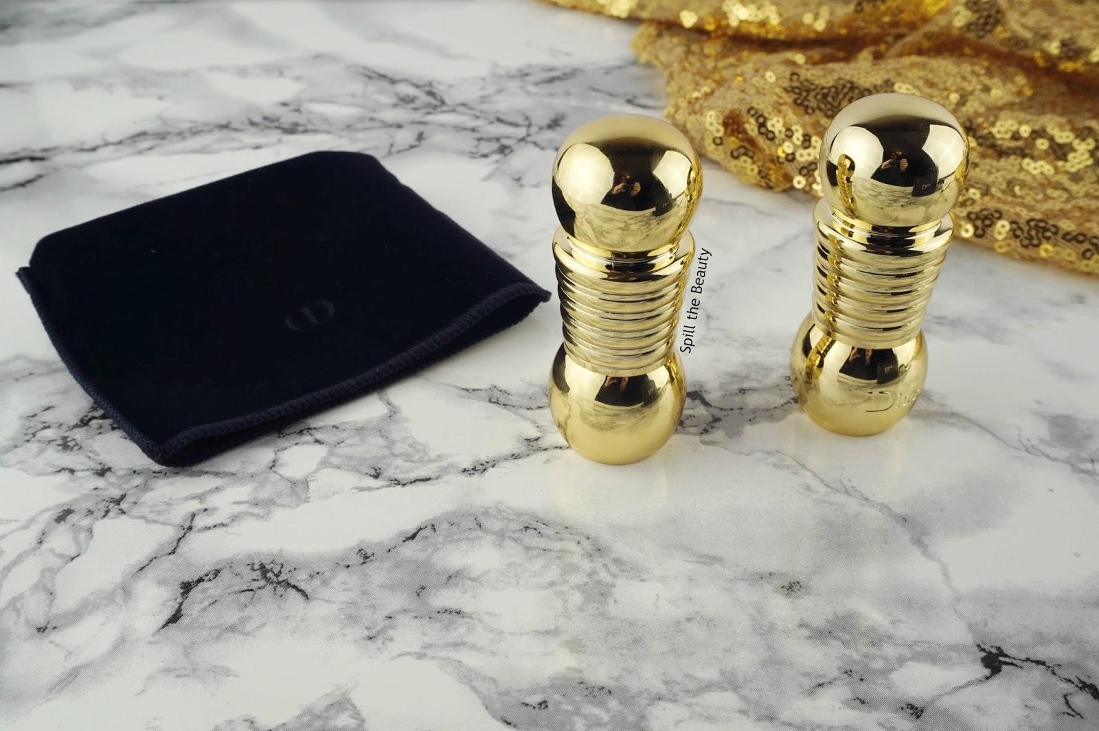 dior holiday makeup 2016 2 lipstick swatch charm golden