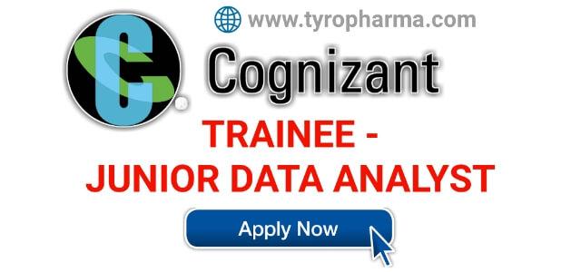 TRAINEE - JUNIOR DATA ANALYST job at Cognizant