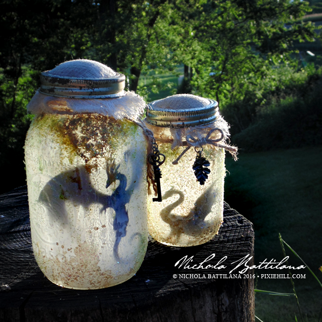 Rotten Smelly Dragon Jar - Nichola Battilana