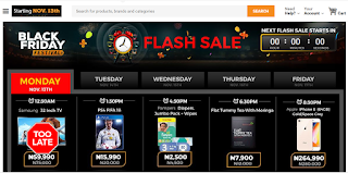 Jumia Black Friday 2017 starts Today; See latest Prices and More