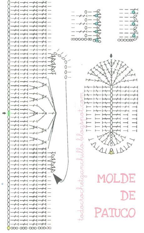 Patucos ~ Escarpines muy elegantes para tejer al crochet / Paso a ...