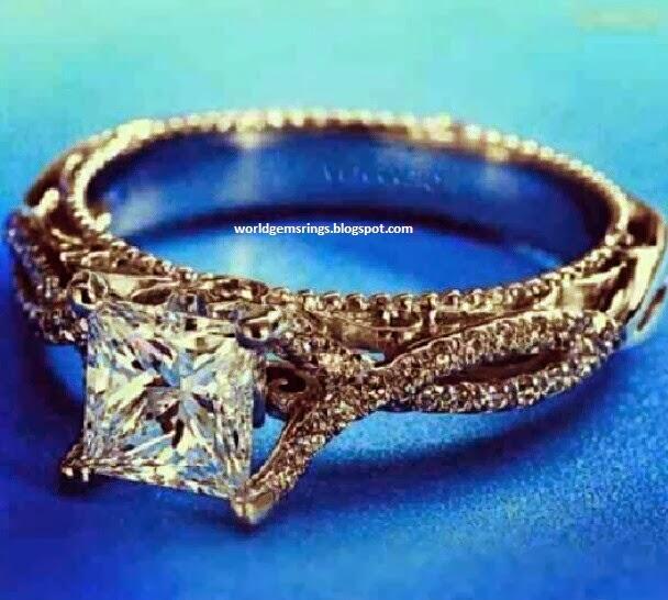 Engagement Rings Kuwait: Engagement Ring : Engagement Diamond Emerald Rings In