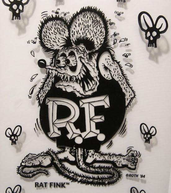 Ed Roth Rat Fink Art