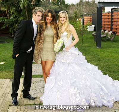 Fábio Coentrão and his girlfriend