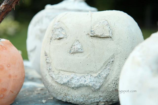 Concrete Pumpkins @Bliss-Ranch