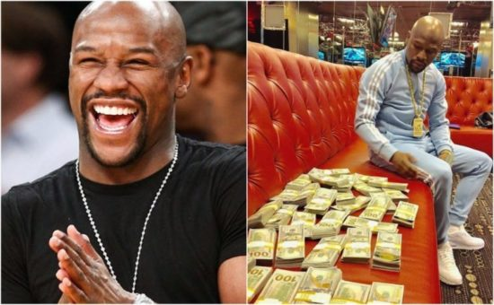 Floyd Mayweather Beats Messi And Ronaldo To Become Highest-Paid Athlete With $275m A Night #FORBES