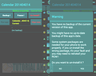 Berikut ini Cara Menghapus Bloatware (Aplikasi bawaan) Dari Perangkat Android