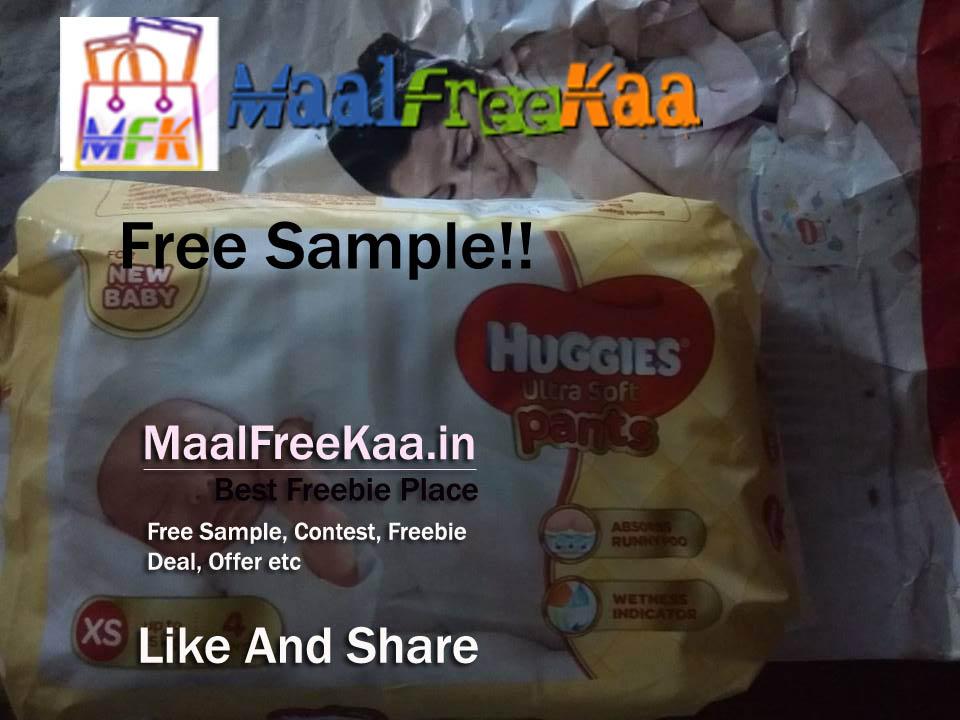 Huggies Diaper Free Sample - Freebie Received - Freebie Giveaway