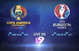 Channel 9 Bangladesh Menyiarkan Copa America dan Euro 2016