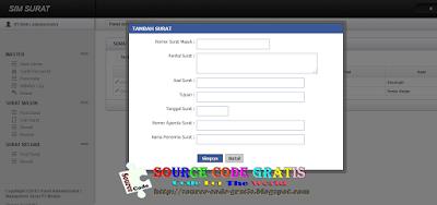 Download Gratis Source Code PHP Aplikasi Manajemen Surat