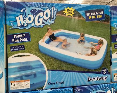 Splash and fun in the sun with the Bestway Family Fun Pool
