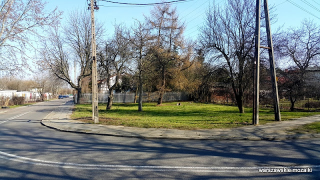 Warszawa Warsaw Wola Jelonki miasto ogród ulica