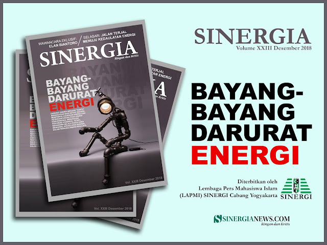 Majalah Sinergia Volume XXIII: Bayang-Bayang Darurat Energi