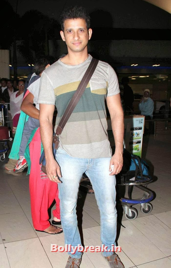 Sharman Joshi, New Year Celebrations: Various Celebs Snapped at Airport