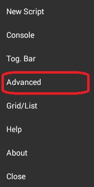Advanced SManager