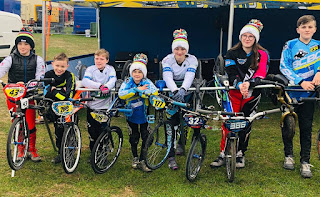 Belfast city bmx club and bmx ulster at British championships Rounds 11& 12 in Leicester.