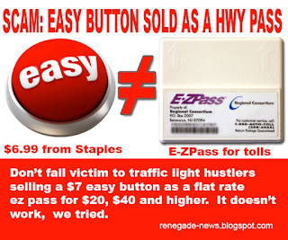 Easy EZ Scam. Driver alert.