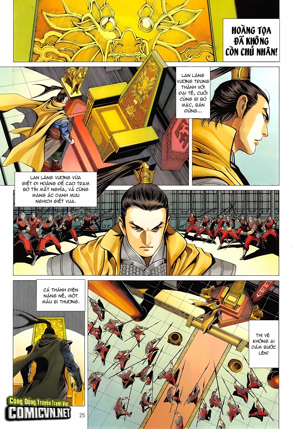 Chiến Phổ chapter 7: giết mi không chỉ mình ta trang 25