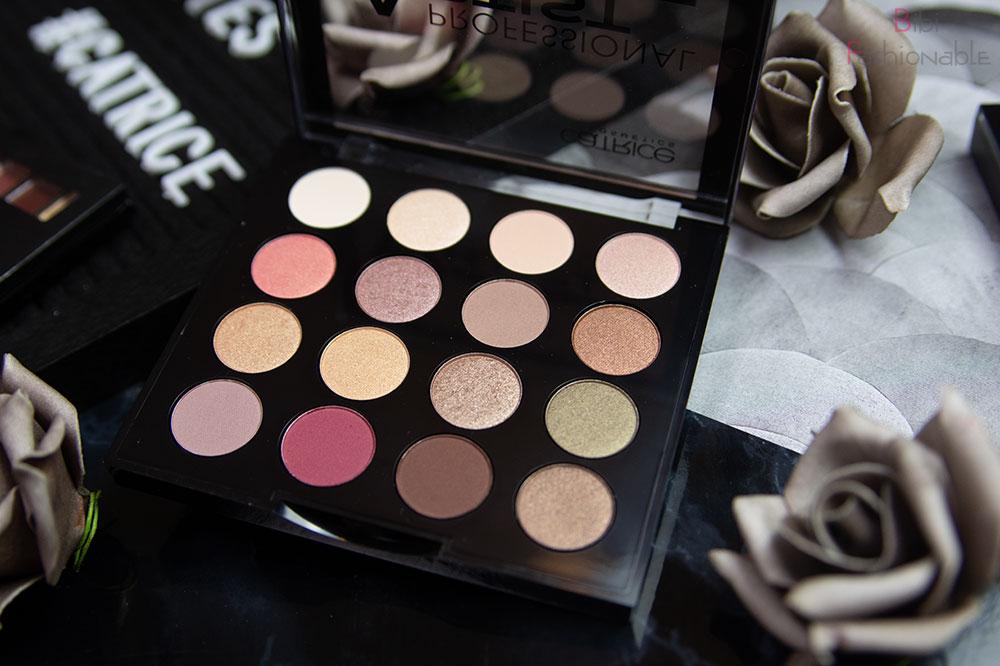 Catrice Professional Artist Eyeshadow Palette offen