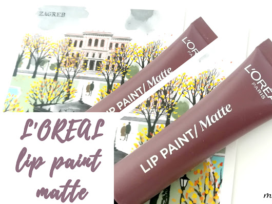 Make up Judge: L'OREAL/ LIP PAINT MATTE (NUDE-IST 212)